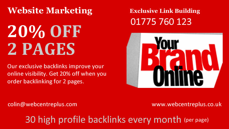 Spalding Backlinking Services