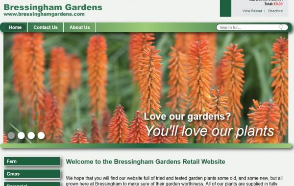 Bressingham Gardens Norfolk