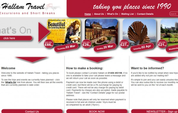 Hallam Travel Company