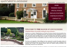 Whaplode Manor Wedding Venue