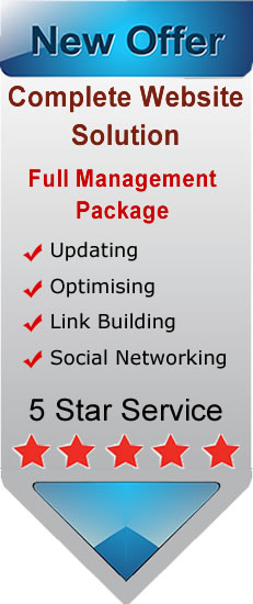 Spalding website management image