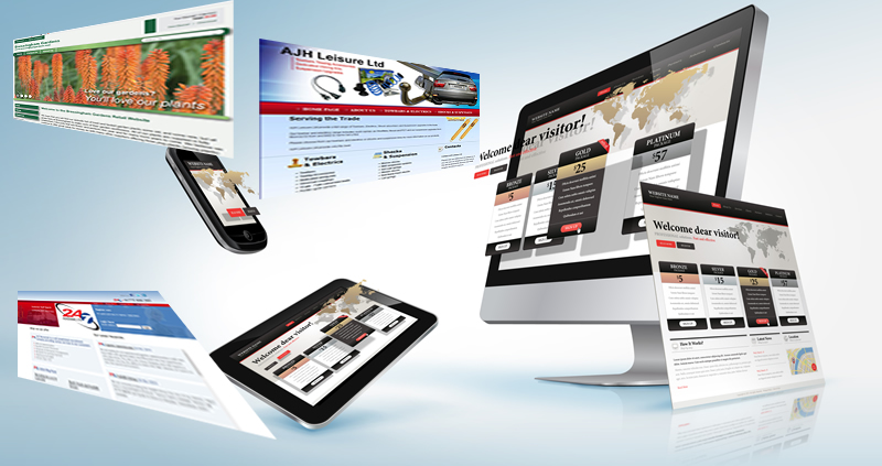 Web design services image
