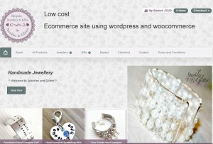Ecommerce site using woocommerce
