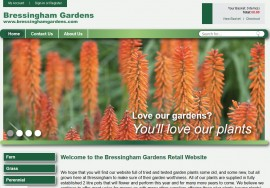 Bressingham Gardens Norfolk